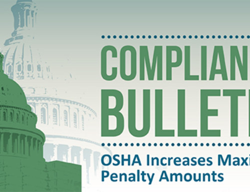 OSHA Penalty Adjustments To Take Effect August 1, 2016
